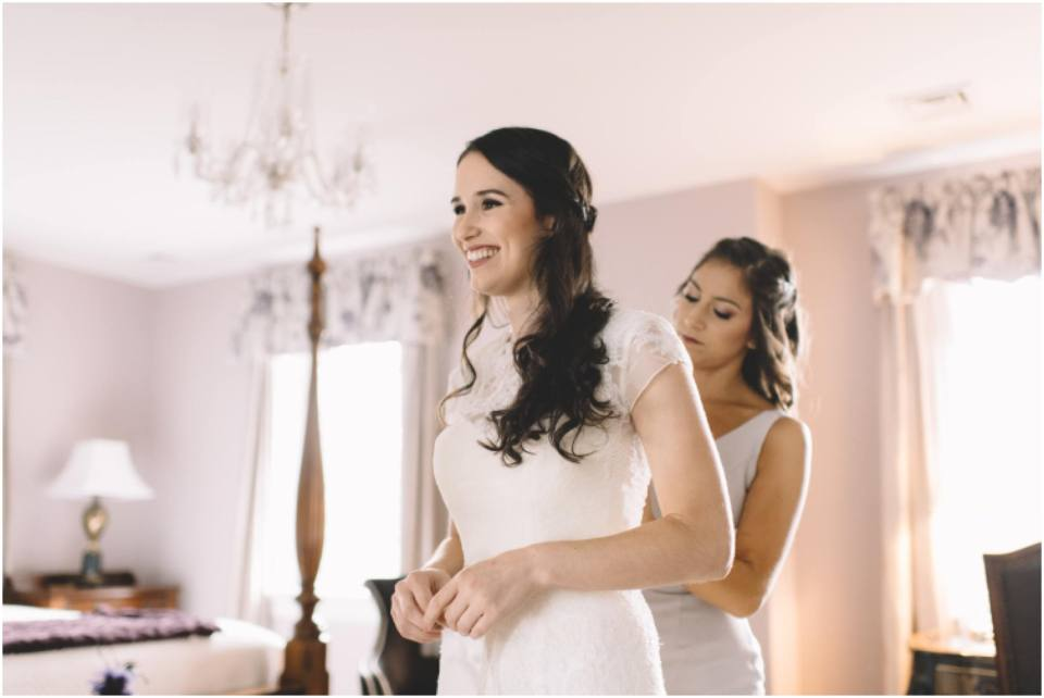 Bride Getting Ready, jewish wedding