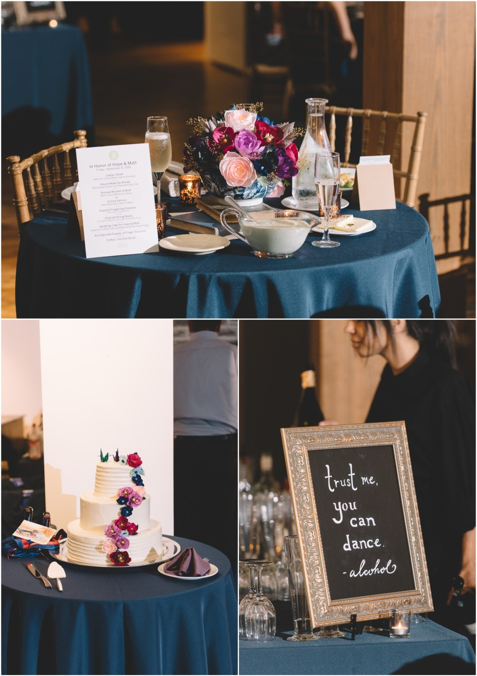 Book Theme Wedding Reception Details