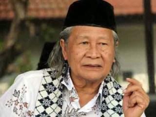 Ridwan Saidi dikenal sebagai politis dan budayawan Betawi
