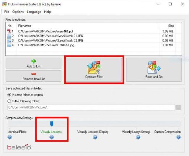 Cara Mudah Kompres Banyak File PDF atau Gambar dengan Sekali Klik