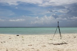 pantai pulau cemara kecil karimunjawa