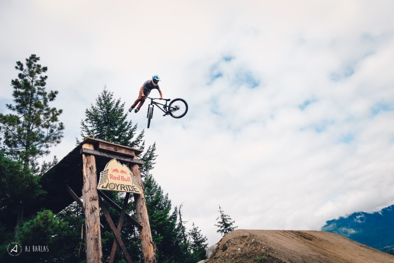 Anthony Messere tailwhips the drop in