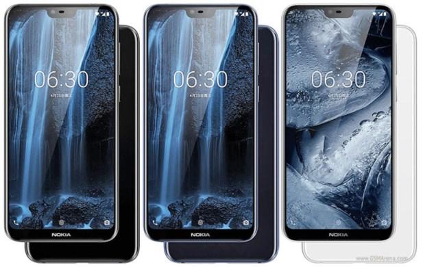 Nokia X6 Stock Wallpapers
