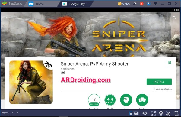 Sniper Arena: PvP Army Shooter for PC Windows 10