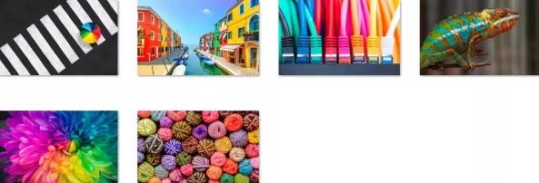 colors of the rainbow windows 10 theme