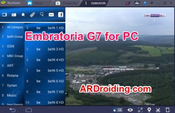 G6 PC EMBRATORIA TÉLÉCHARGER