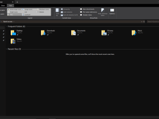 enable file explorer dark theme windows 10