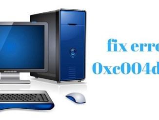 fix 0xc004d307 windows error