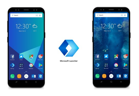 uninstall microsoft launcher android