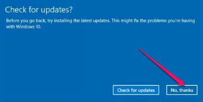 uninstall windows 10 update