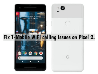 fix wifi calling t-mobile pixel 2