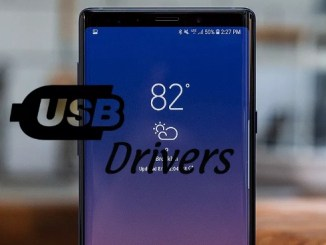 usb drivers galaxy note 9