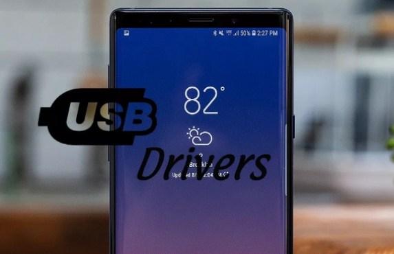 usb drivers galaxy note 9