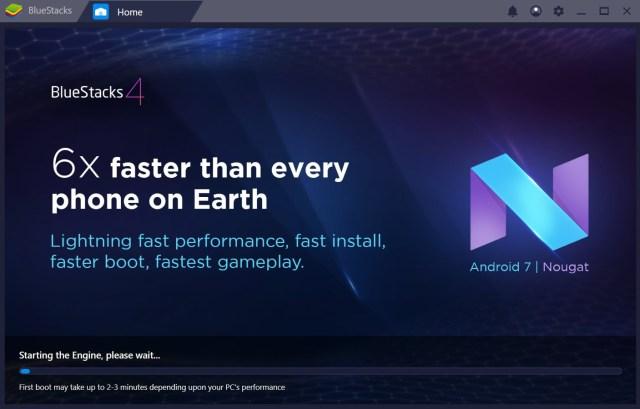 bluestacks 4 android nougat update