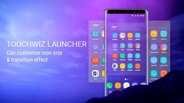 Download Galaxy S9 TouchWiz Launcher For Any Samsung Phone