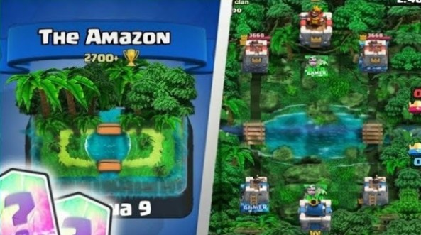 clash royale private server with custom cards