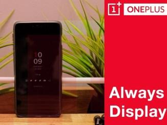 always on display oneplus 6t