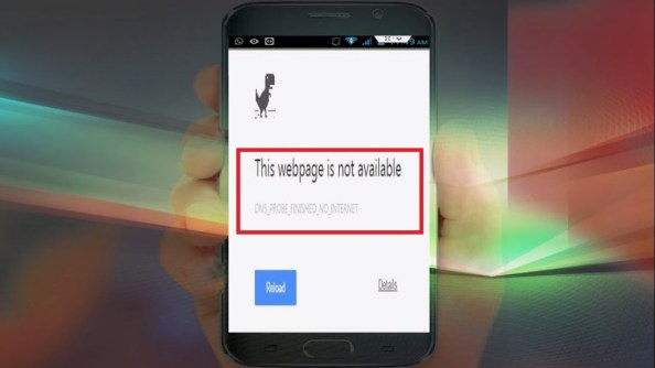 fix dns_probe_finished_no_internet on android smartphones