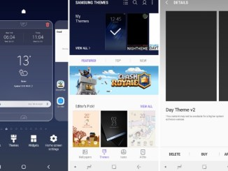 android pie 9.0 theme for samsung galaxy