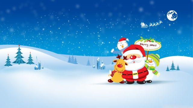 merry christmas wallpaper hd 8
