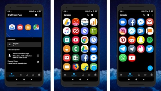 one ui icon pack for samsung phones