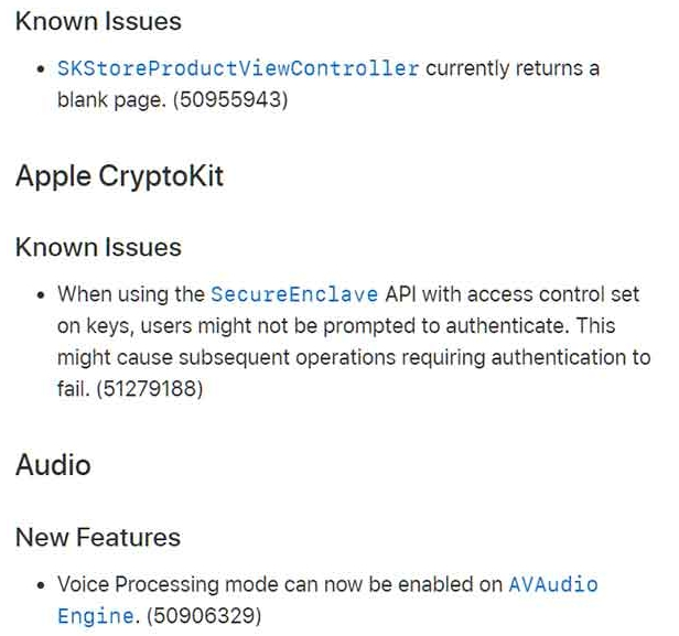 ios 13 beta 2 and ipados 13 beta 2 changelog 4