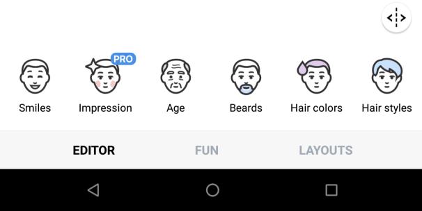 faceapp editor