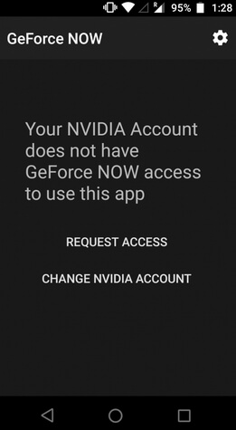 geforce now login failed android error fixed