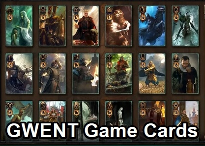 gwent game cards 2019