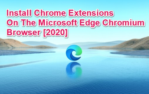 chrome extensions for edge chromium