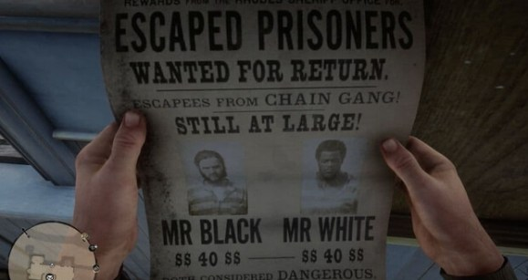 red dead redemption 2 wanted posters