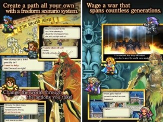 romancing saga apk screenshot