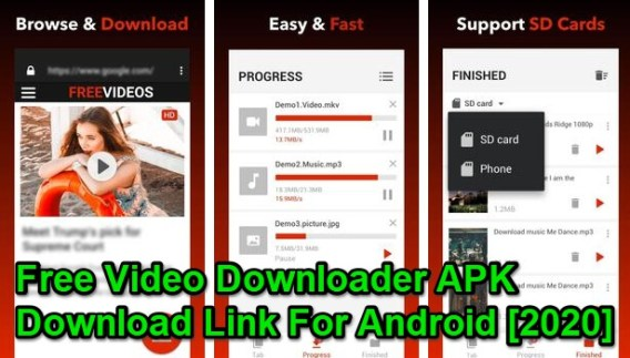 Free Video Downloader pro apk 2020