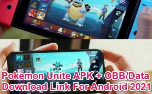 pokemon unite apk 2021