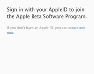 sign in apple public beta