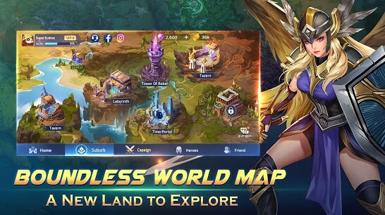 mobile legends adventure apk screenshot