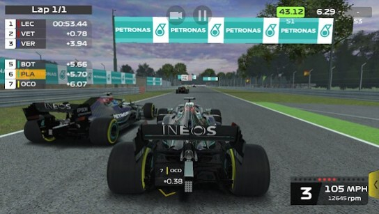f1 mobile racing apk mod screenshots