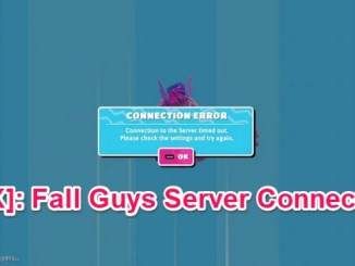 fall guys server connection fixed