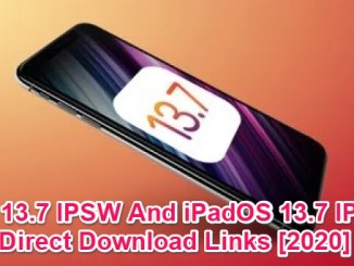 ios 13.7 ipsw download links