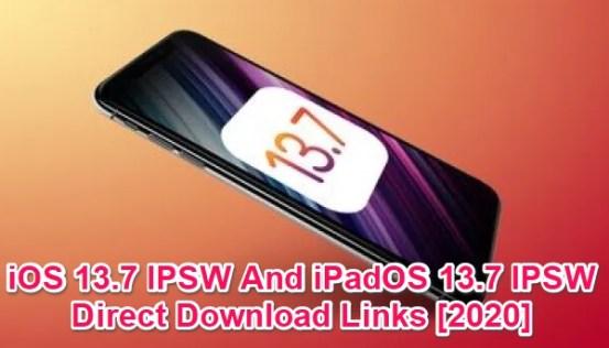 ios 13.7 ipsw download links