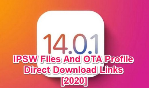 ios 14.0.1 ipsw links