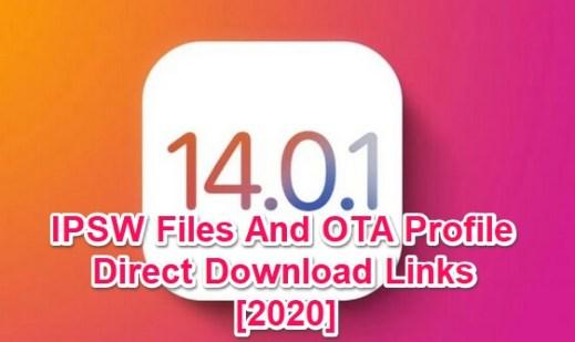ios 14.0.1 ipsw links