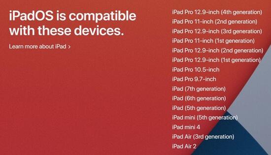 ipados 14 compatible devices