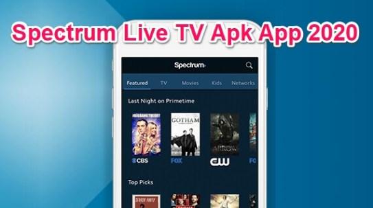 spectrum tv apk