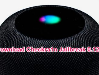 checkra1n jailbreak 0.12.1