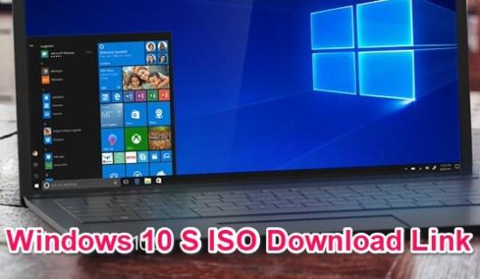windows 10 s download