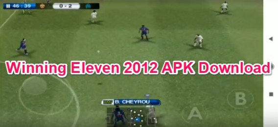 winning eleven 2012 full apk