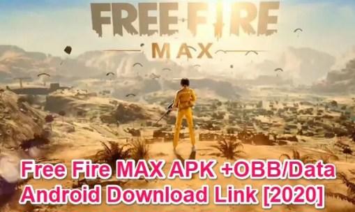 free fire max apk