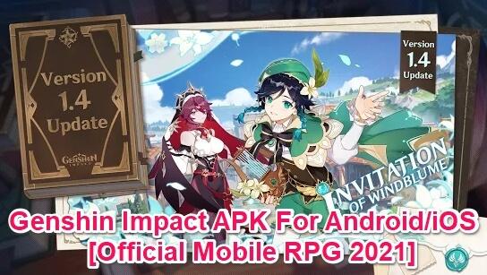 genshin imapct android mobile download