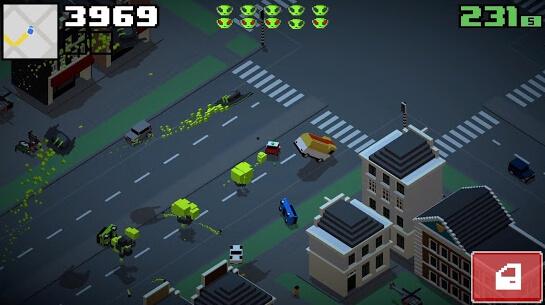 smashy road wanted 2 apk screenshots